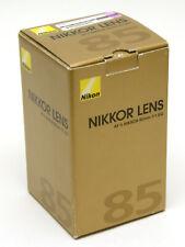 85mm F1.8D AF nikkor EMPTY lens box NIKON lens box FREE SHIPPING