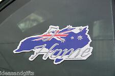 2x 5 Star Holiday/Home UV Stickers Australian Made Souvenir Southern Cross Flag