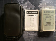 Greenlee Coaxial Cable Tester 45055 New