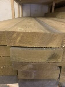 TANALISED Planed Wooden Joists 8x2 7 X2 6x2 From £7.50