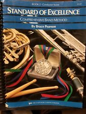 Standard of Excellence Book 2 Conductor's Score by Bruce Pearson, 1994 Edition