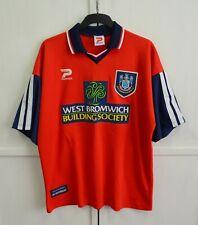 MINT West Bromwich Albion 1997/1998/1999 Vintage Away Shirt Jersey Patrick Sz XL