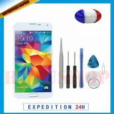 Pour SAMSUNG GALAXY S5 i9600 Blanc Écran LCD original + Vitre Tactile + Outils