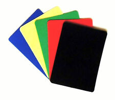 Set of 5 Casino Grade 100% Plastic Bridge Size Cut Cards - Rounded Corners - 1