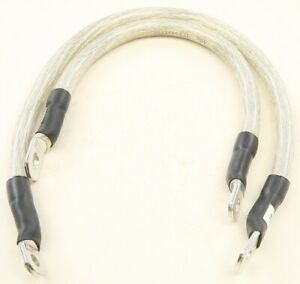 All Balls Racing Battery Clear Cables (2) For Harley Davidson 79-3002
