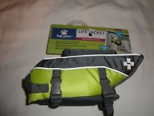 Top Paw NEOPRENE dog pet life vest jacket XS Weight 5-15 lbs LIME