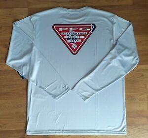 NWT! Columbia PFG Omni-Wick Long Sleeve Performance Fishing Shirt UPF 50 Mens XL
