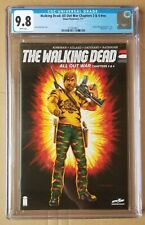 The Walking Dead All Out War Ch. 3 & 4 #nn CGC 9.8 Shiva Force Variant Slabbed