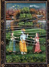 Tres jolie peinture sur soie Inde