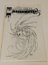 Witchblade #1 Image Comics Black & White Dynamic Forces Alternate Cover