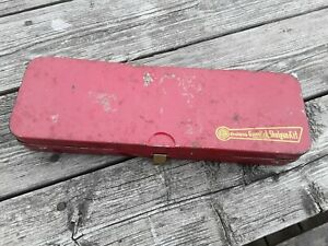 Collectors Gun Cleaning Vintage Tin. Outers Gunslick Shotgun Kit. Hunting