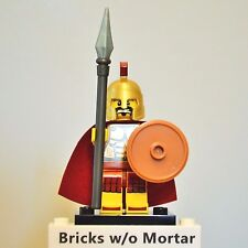 New Genuine LEGO Spartan Warrior Minifig with Spear Series 2 8684