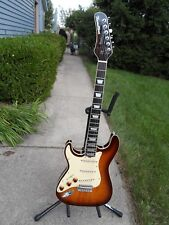 "Hamiltone "" Lefty "" Ltd Edition Neck Through Guitar"