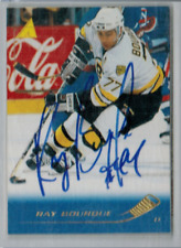 1995-96 Pinnacle Ray Bourque #56 Signed NO COA