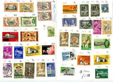 Nigeria Stamps: more than 180 used stamps