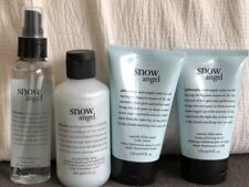 Philosophy Snow Angel Gift Set (Shampoo, Body Lotion, Spray, Body Scrub) New