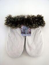 Femmes Gants poing velour blanc taille M 100% polyester Jack JORDAN COLLECTION