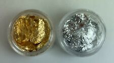 Gold & Silver Nail Art Foil ( 2 Jars, 1 each)