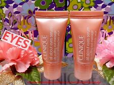 *Clinique* All About Eyes Serum (5mlx2) Skincare Eyes Dark Circles  FREE POST!