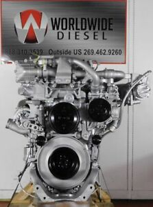 2011 Detroit DD13 Diesel Engine, 500HP. Good For Rebuild Only