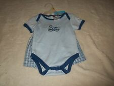 NEW SNUGABYE SHORTS OUTFIT INFANT BOYS SIZE 3-6 MO'S......BLUE