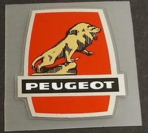 Peugeot Head Badge Decal  (sku Peug706)