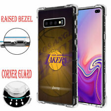 Samsung Galaxy S10 Plus Raised Corner Guard Impact Case Los Angeles Lakers #A