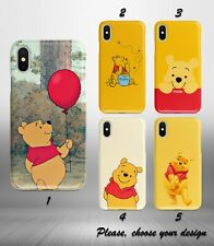 Winnie the Pooh case for iphone 11 pro max XR X XS SE 2020 8 7 plus 6 5 + SN
