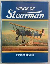 Wings of Stearman Peter M Bowers Aircraft Manufacturer Wichita Kansas History