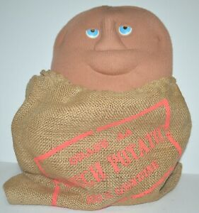 Vintage 1980's Couch Potato 100% Genuine Soft Toy in Sack Robert Armstrong 1987