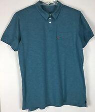 Mens Levis Pocket Polo Shirt XL Short Sleeve Cotton Blend