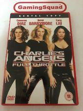 Charlies Angels Full Throttle (Rental) DVD, Supplied by Gaming Squad