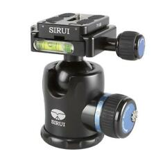 NEW Sirui K-10X 33mm Ballhead with Quick Release, 44.1 lbs Load Capacity