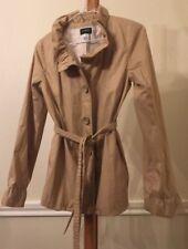 J crew women's ruffle jacket khaki 2
