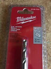 "Milwaukee 3/8"" Shank Small Hole Saw Arbor 49-56-7010"