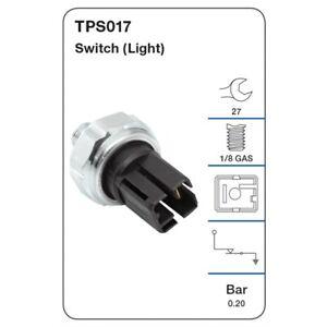 Tridon Oil Pressure Switch TPS017 fits Nissan Silvia 2.0 16V Turbo (S14), 2.0...