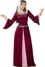 Smiffys Smiffy's - Costume da Regina medievale Donna Incl. Vestito e (b5l)