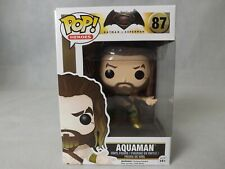 Pop Aquaman Heroes Batman V Superman #87 Vinyl Great Condition