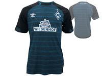 Umbro SV Werder Bremen Away Kinder Jersey 2018/19 SVW Trikot Jungen 134 - 158