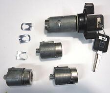 GMC Yukon OEM Ignition Key Switch Cylinder & Door & Rear Lock Set W/ 2 OEM Keys