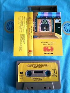 """Cassetta """"Arthur Zitelli – Last Love"""" - 1978"""