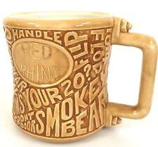Red Rhino 13 oz Coffee Mug CB Radio Call Sign Trucking Relief Cup Truck Driver