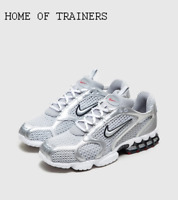 Nike Air Zoom Spiridon Cage 2 Grey White Men's Trainers All Sizes