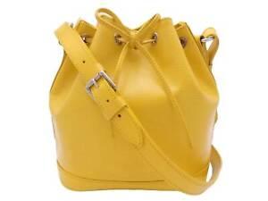 Auth Louis Vuitton Epi Noe BB Shoulder Bag Yellow *USED* - e47949a