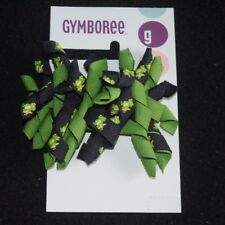 NWT Gymboree Girls Dandelion Wishes Hair Curly Curlies Bows Navy Green Toddler