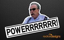 Jeremy Clarkson POWER! Top Gear sticker