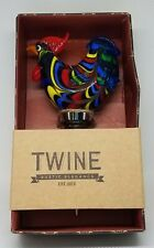 New listing Twine 0397 Wine Bottle Stopper, Country Cottage Rooster