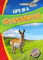 Life in a Grassland (Biomes Alive!) by Hamilton Waxman, Laura, NEW Book, FREE &