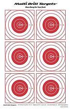 Bullseye Target - 10 Pack
