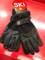 Ski Signature Spring Glove Men's S Leather and Mesh